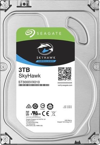 View Seagate SkyHawk 3 TB Network Video Recorders (NVR), Embedded Surveillance DVRs (SDVR), Hybrid Surveillance DVRs, Surveillance DVRs Internal Hard Drive (ST3000VX010) Price Online(Seagate)