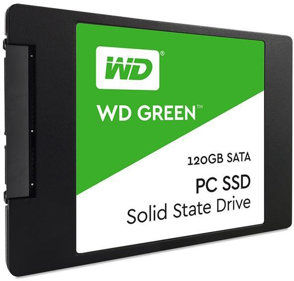View Wd Green 120 GB Desktop, Laptop Internal Solid State Drive (WDS120G1G0A) Price Online(WD)