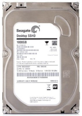 Seagate Desktop SSHD (ST1000DX001) 1TB Desktop Internal Hard Drive