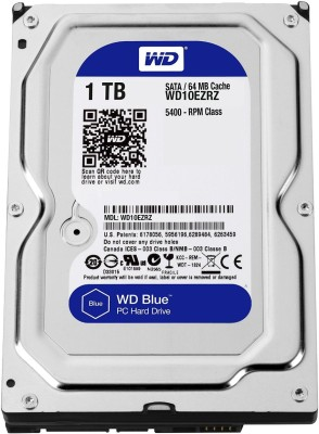 WD Blue WD10EZRZ 1TB Internal Hard Disk