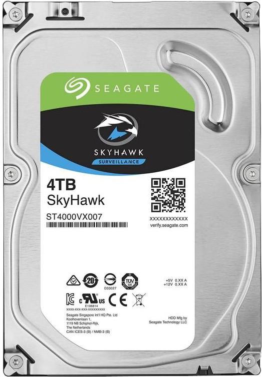 View Seagate SkyHawk 4 TB Surveillance Systems Internal Hard Disk Drive (ST4000VX007) Price Online(Seagate)