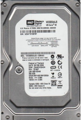 WD Caviar (WD3200AAJS) 320GB Desktop Internal Hard Drive
