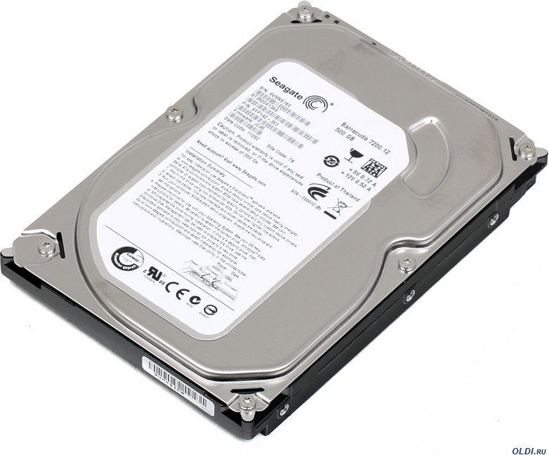 View Seagate Barracuda 500 GB Desktop Internal Hard Disk Drive (ST3500413AS) Price Online(Seagate)