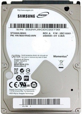 SAMSUNG Spin Point 2 TB Laptop Internal Hard Drive (ST2000LM003)