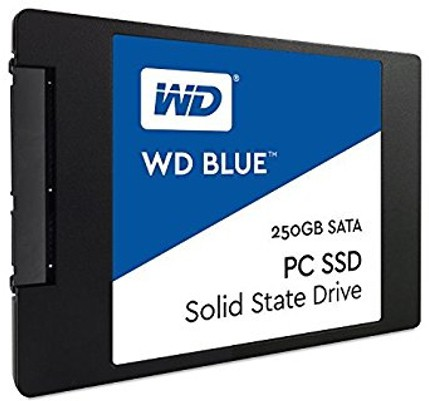 View WD Blue PC 250 GB Desktop, Laptop Internal Solid State Drive (WDS250G1B0A) Price Online(WD)