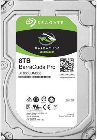 View Seagate BarraCuda Pro 8 TB Desktop, All in One PC's, Home Servers, Entry-level Direct-attached Storage Devices (DAS), Creative Pros Systems Internal Hard Drive (ST8000DM005) Price Online(Seagate)