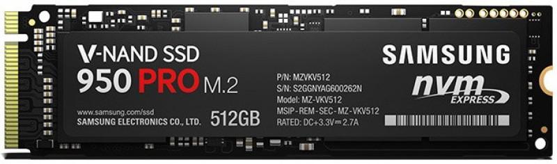 SAMSUNG 950 Pro 512 GB Desktop, Laptop Internal Hard Drive (MZ-V5P512BW)