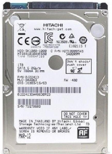 Hgst HGST 1 TB Laptop Internal Hard Disk Drive (HTS541010A9E680)