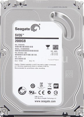 Seagate Barracuda SV-35 (ST2000VX000) 2TB Desktop Internal Hard Drive