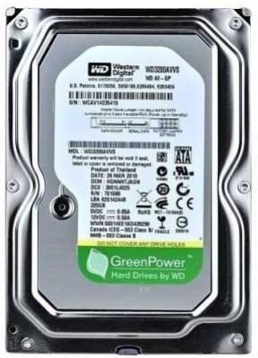 WD Green Power 250 GB Desktop Internal Hard Drive (WD250AVVS)