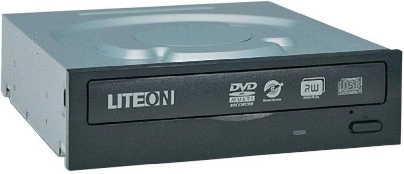 LiteOn Ihas124-16 Fu DVD Burner Internal Optical Drive(Black)