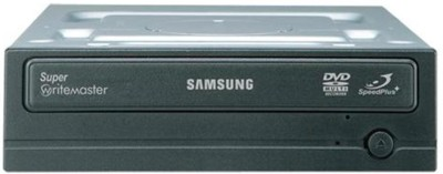 SAMSUNG 24X SATA DVD WRITER DVD WRITER Internal Optical Drive(Black)