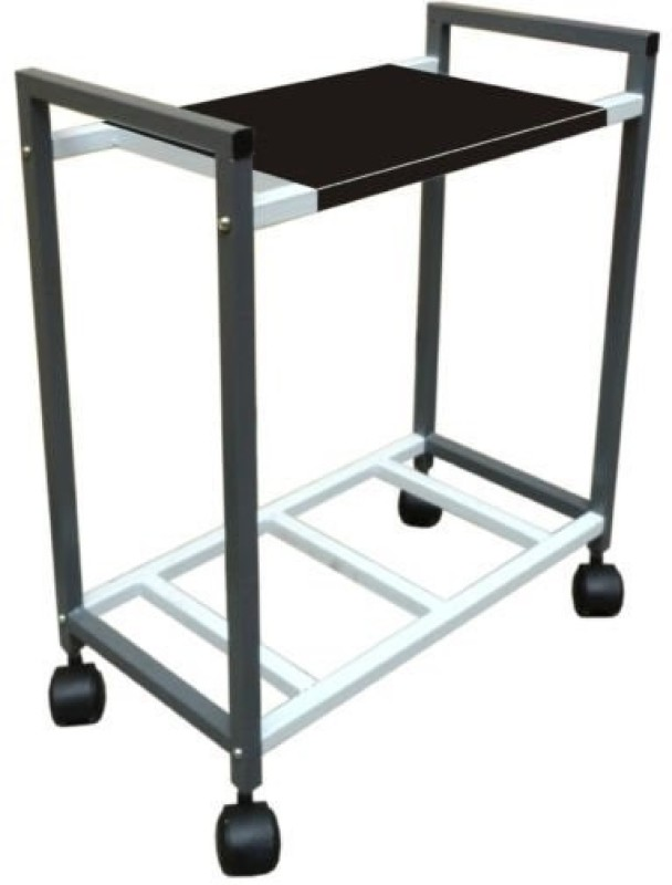 Royal look Inverter Trolly Trolley for Inverter and Battery(Black)