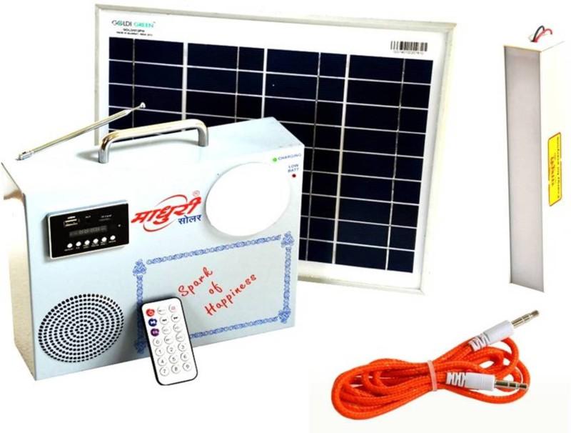 Madhuri Solar MSLPBL0001 Trolley for Inverter and Battery(White)