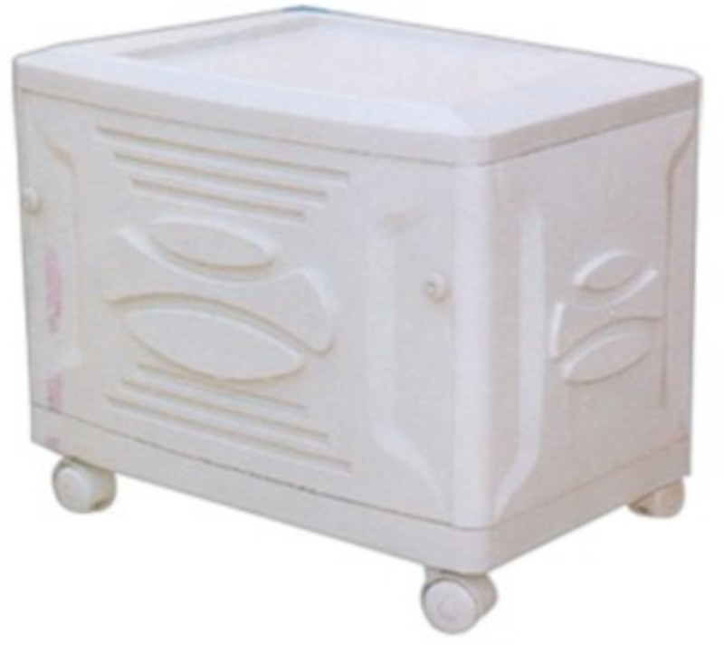 Sun Power Smile Trolley for Inverter and Battery(White)