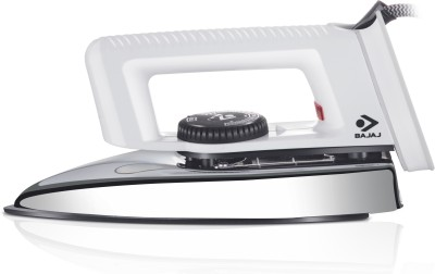 Bajaj Popular L/W Dry Iron(White)