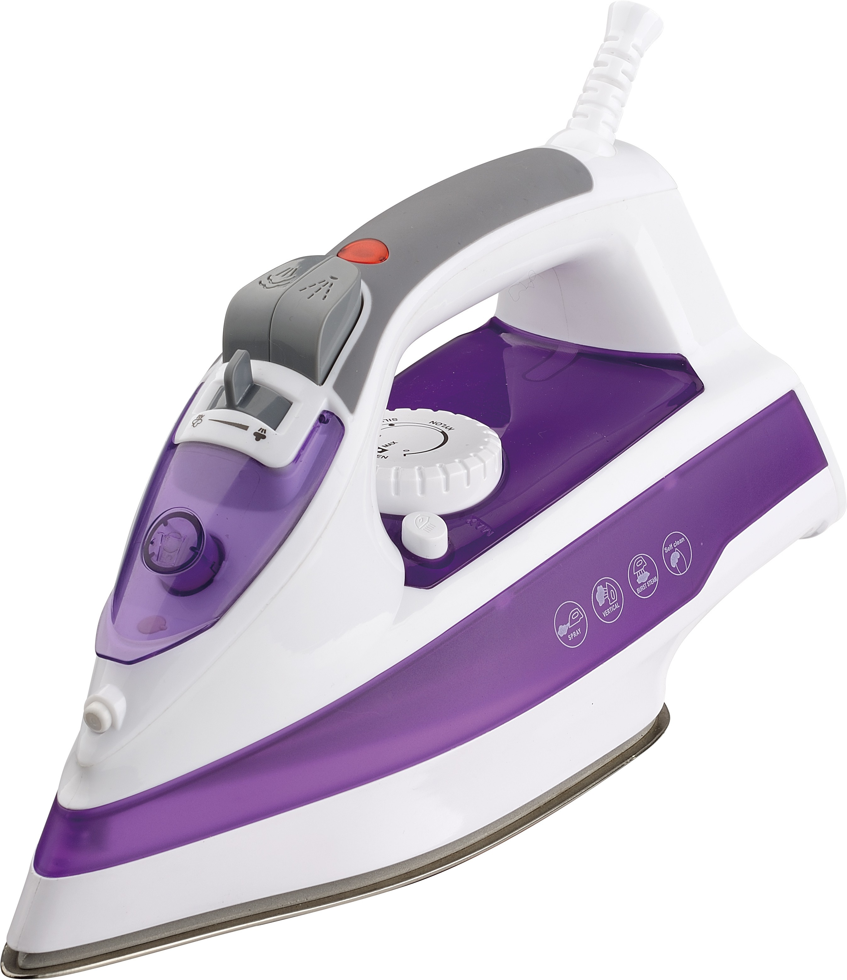 View Clearline Master Steam Iron(Purple) Home Appliances Price Online(Clearline)