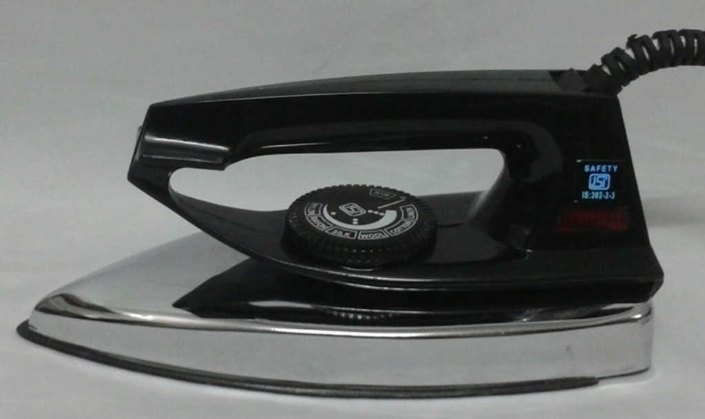 View Delta Light Weight Dry Iron(Black) Home Appliances Price Online(Delta)