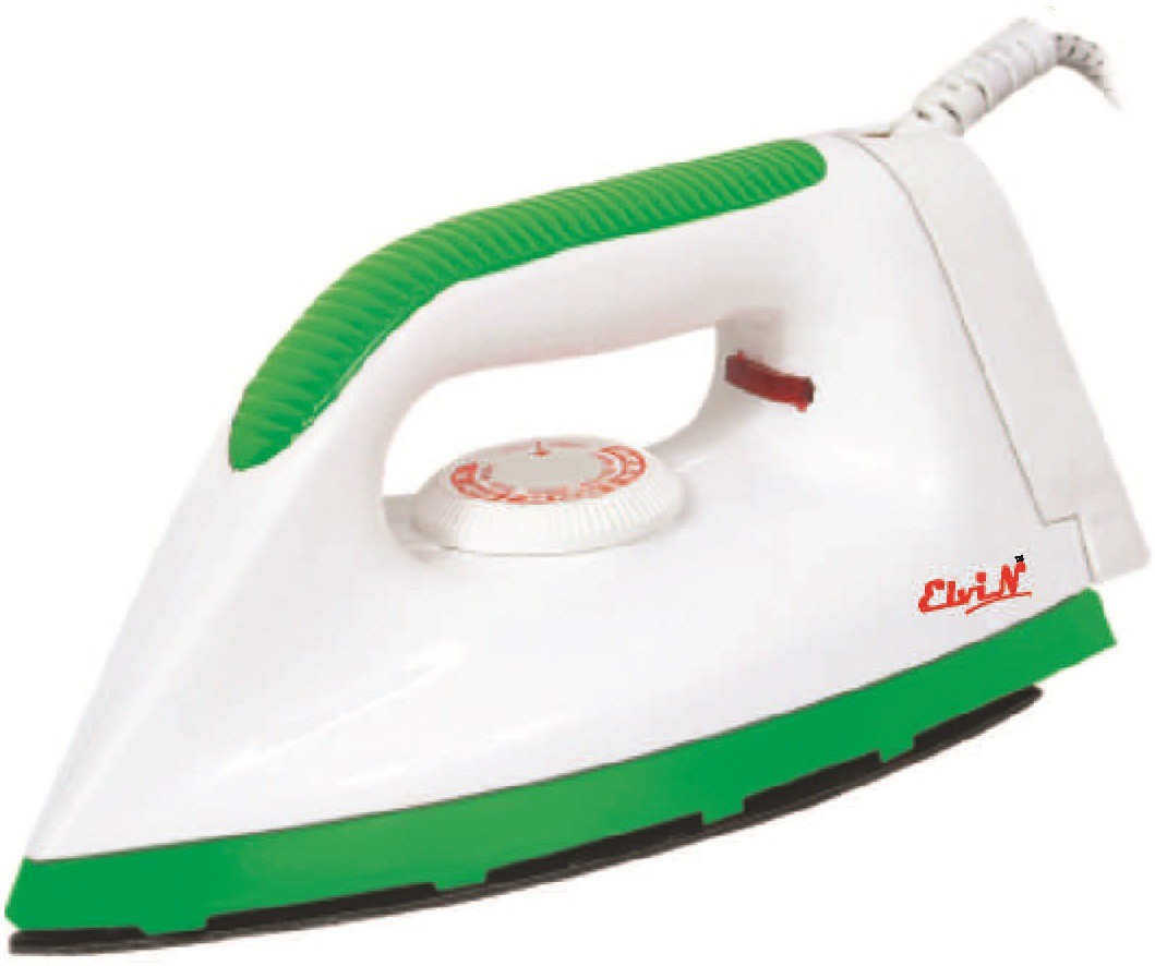 View Elvin Victoria Light Weight Electric 750 W Dry Iron(Green, Multicolor) Home Appliances Price Online(Elvin)