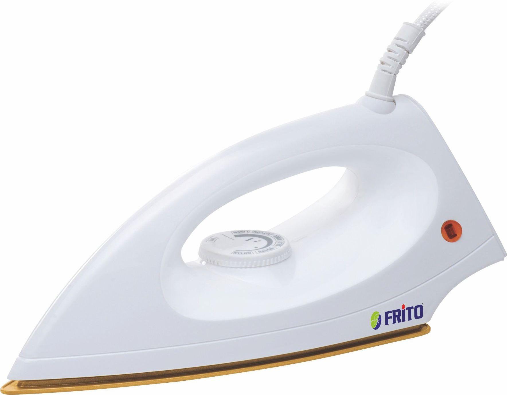 View FRITO 1666 Dry Iron(White) Home Appliances Price Online(Frito)