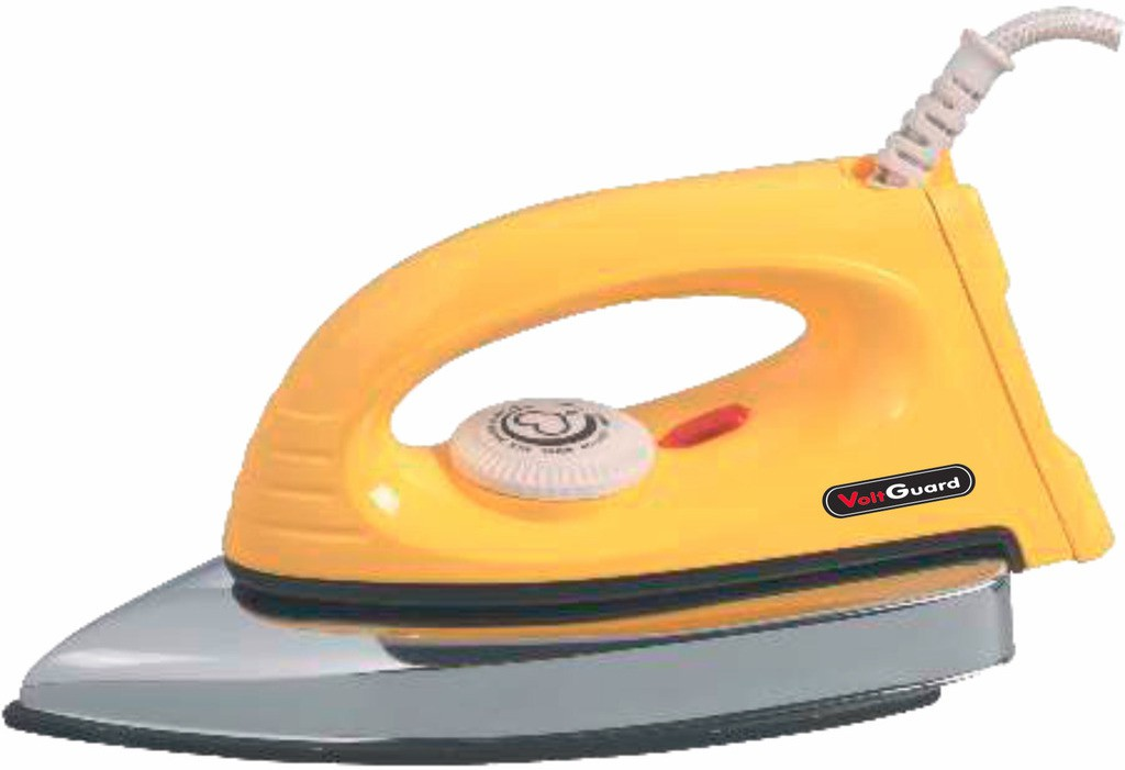 View Voltguard LANCER Dry Iron(Yellow) Home Appliances Price Online(VOLTGUARD)