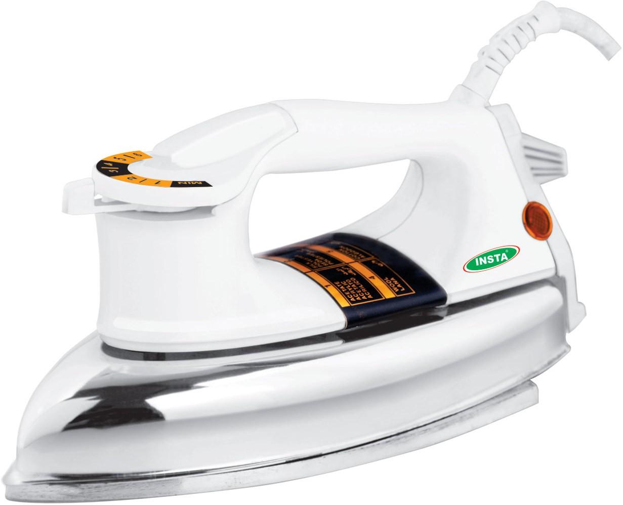 View Insta Plancha Heavy Dry Iron(SilverWhite) Home Appliances Price Online(Insta)