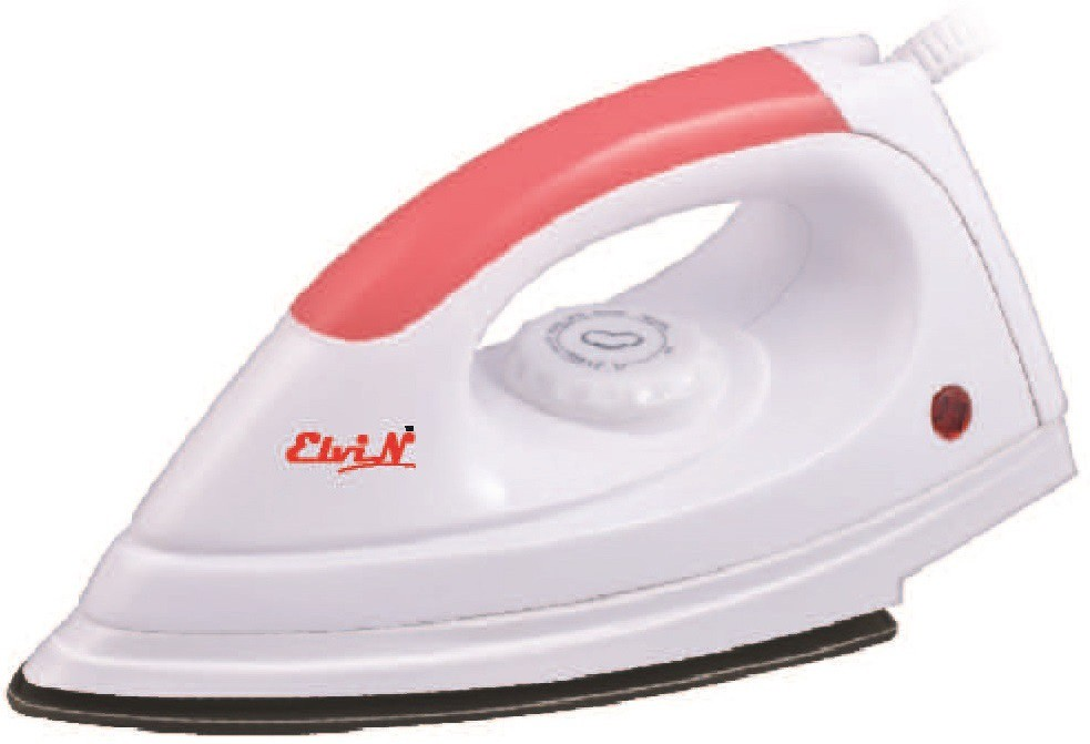 View Elvin Magic Light Weight Electric 750 W Dry Iron(Multicolor) Home Appliances Price Online(Elvin)