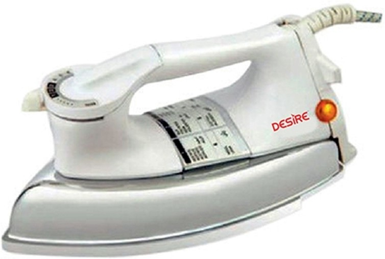 View Desire DDI75P1 Dry Iron(White) Home Appliances Price Online(Desire)