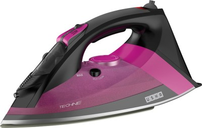 Usha Techne Pro 1500 Steam Iron(Black, Purple)