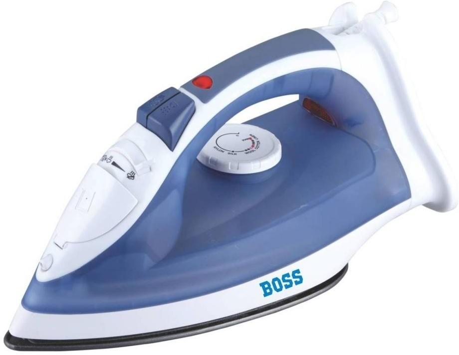 View Boss Express Steam B311 Steam Iron(Blue) Home Appliances Price Online(Boss)