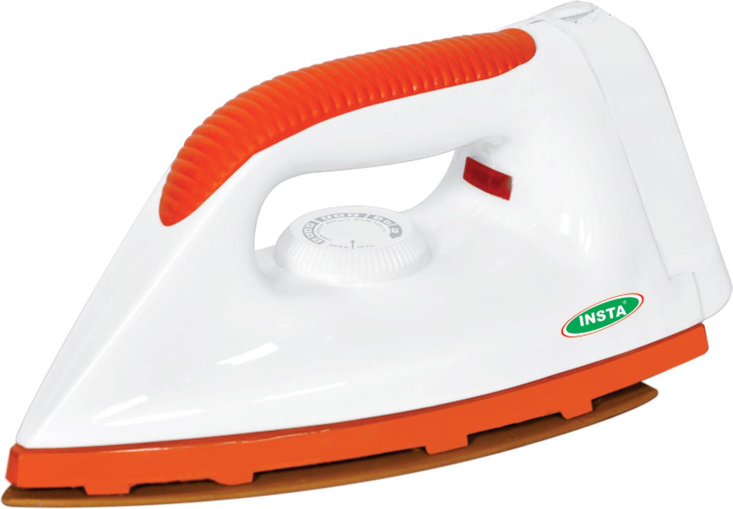 View Insta Victoria Dry Iron(White) Home Appliances Price Online(Insta)