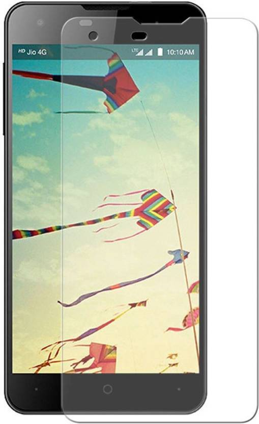 KANZA Tempered Glass Guard for Lyf Wind 2