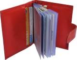 Wildmoda Men Red Genuine Leather Card Ho...