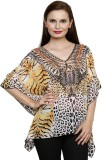 Chiktones Animal Print Viscose Women's K...