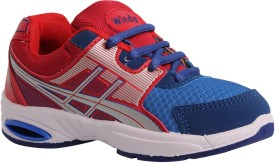 Windy Boys & Girls Lace Running Shoes(Multicolor)