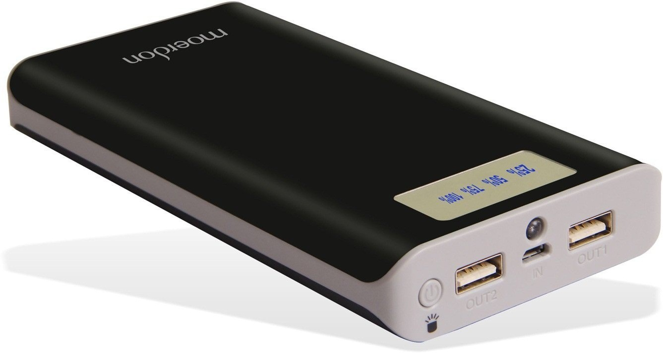 MOERDON MDPBJSN-13 20000 mAh Power Bank(Black, Lithium-ion)