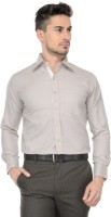 Vicbono Formal Shirts (Men's) - Pure By Vicbono Men's Solid Formal Brown Shirt