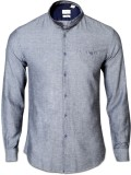 IVYN Men's Solid Casual Grey Shirt