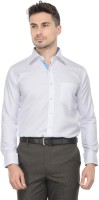 Pure By Vicbono Formal Shirts (Men's) - Pure By Vicbono Men's Solid Formal White Shirt