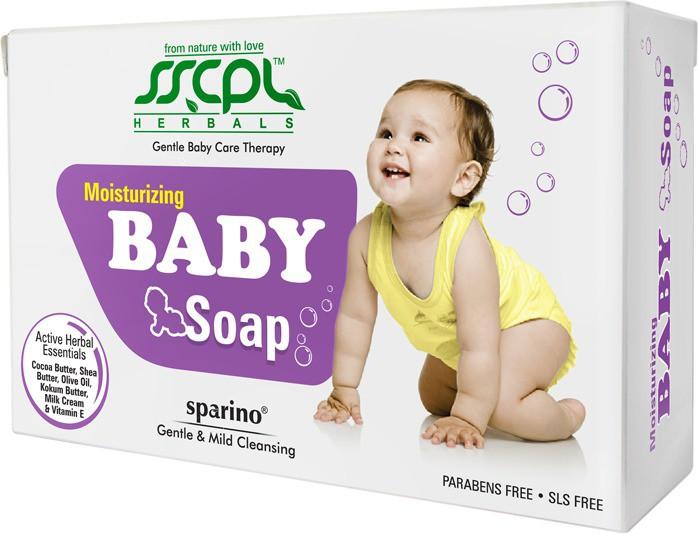 SSCPL Herbals Moisturizing Baby Soap(200 g)