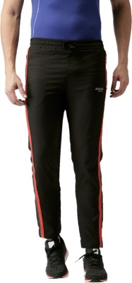 2Go Solid Mens Black Track Pants