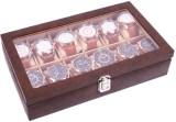 Felicita Spacious Watch Box (Brown, Hold...