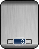 Health Sense Chef-Mate Stainless Stell Digital Kitchen Scale Weighing Scale