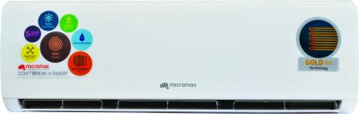 Micromax 1.5 Ton 5 Star Split AC White(ACS18ED5AS02WHI, Aluminium Condenser)