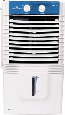 View Kelvinator KPC 20A Personal Air Cooler(White, Blue, 11 Litres)  Price Online