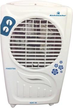 View Kelvinator KDC 55/55R Desert Air Cooler(White, Blue, 51 Litres) Price Online(Kelvinator)