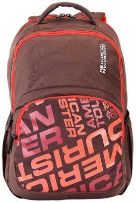 American Tourister AMT CRUNK 2017 21 L Backpack(Brown)