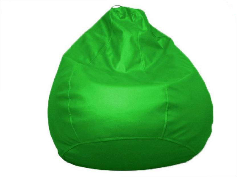 View Ds Fashion Large Bean Bag Cover(Green) Furniture (DS FASHION)