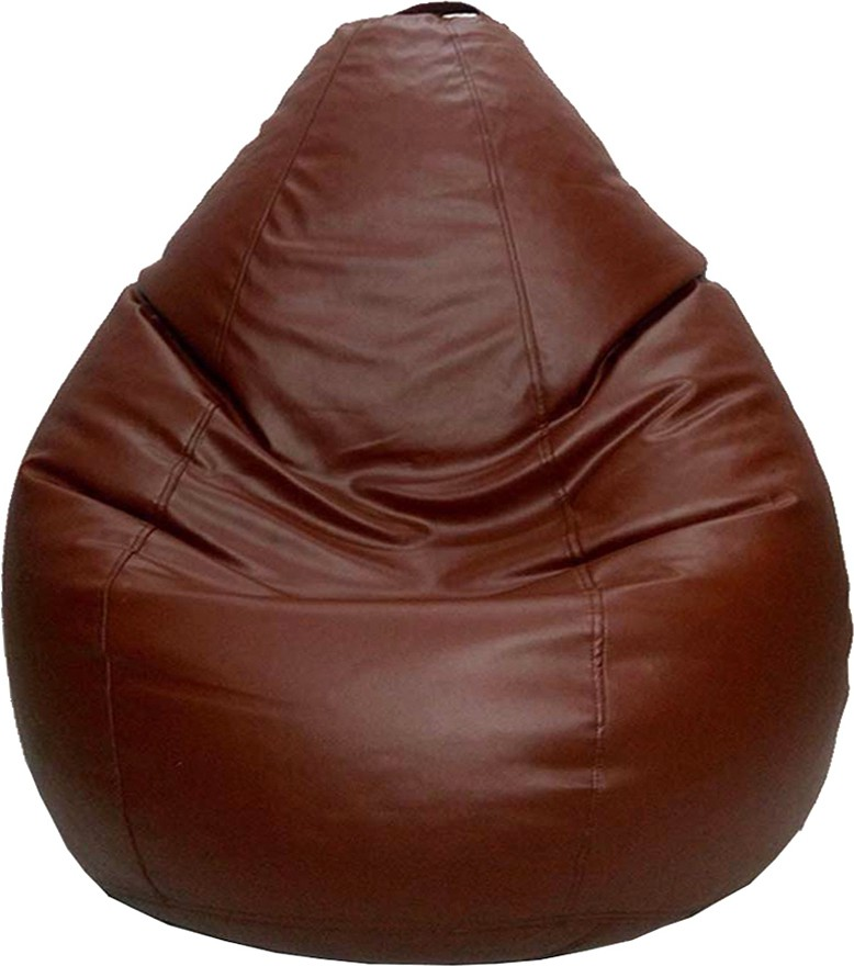 View Psygn XL Teardrop Bean Bag  With Bean Filling(Tan) Furniture (Psygn)