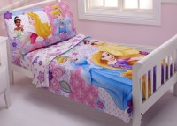 Disney Polyester Bedding Set(Princesses Wishes and Dreams)